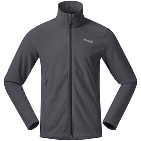 Bergans Finnsnes Fleece Jacket Men solid dark grey